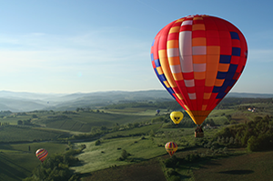 Air Ballooning in Chianti